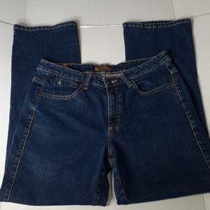 Aura Women's Western Jeans 12 Regular Short